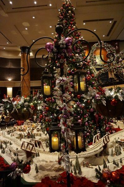 ウエスティン東京クリスマスツリー
