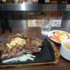 いきなりステーキ☆六本木ヒルズ店で400gの肉食♫