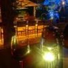 AWエレメンツ六本木ヒルズ店☆屋外テーブルで夕食