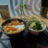 カツ丼と蕎麦(しぶそば市が尾店)