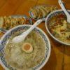 揚州商人で刀削麺と餃子!こりゃ美味い♪
