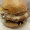 ゴルゴンゾーラのハンバーガーが上手い(シャポーマルゴ―:六本木ヒルズ)