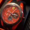 フェラーリの腕時計を買いました♪