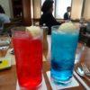大きなクリームソーダ―とパスタランチ~フィオレンティーナ(グランドハイアット東京)