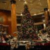 ホテル・ウエスティン東京の愛らしいクリスマスツリー