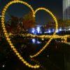 緑と黄金色に輝く☆毛利庭園のイルミネーション(六本木ヒルズ)
