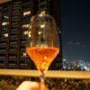 ベランダでワインの晩酌~六本木ヒルズレジデンス