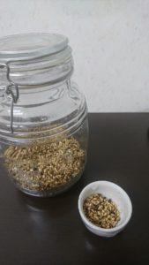 炒り玄米 完成品