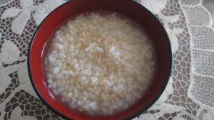 玄米粥 効果
