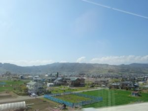 北陸新幹線 車窓