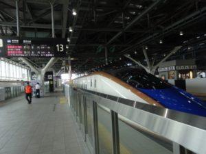 北陸新幹線 はくたか 富山駅