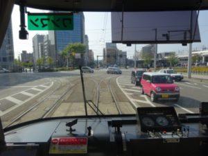 富山市 路面電車 運転席