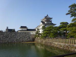 富山城 お堀