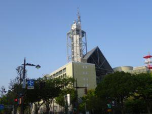富山市役所 展望台