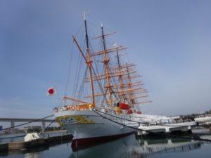 富山県 海王丸 帆船