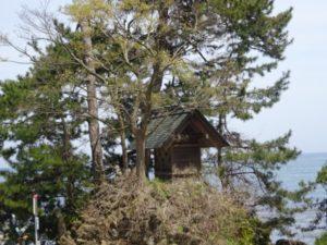 富山県 義経岩