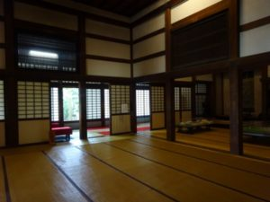 瑞龍寺 室内