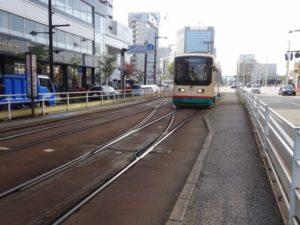 富山市の街