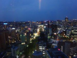 富山市役所 展望台 夜景