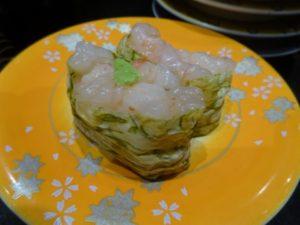 富山県 回る寿司 白エビ