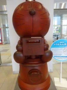 高岡駅 ドラえもんポスト