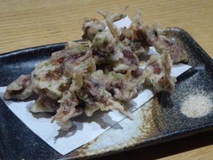 ホタルイカ天ぷら