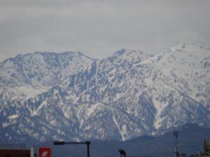 富山県 立山連峰